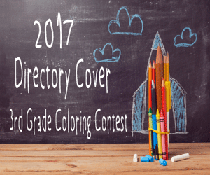 2017 Directory 3rd Grade Coloring Contest