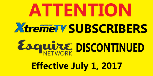 Esquire Network Discontinued