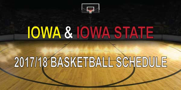 Iowa & Iowa State Football Schedule